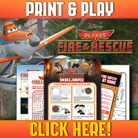 planes fire and rescue printable sheets