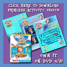 Sofia the First Printable Activities